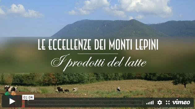 Monti Lepini – I Prodotti del Latte